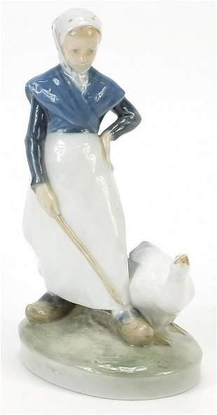 Royal Copenhagen Danish porcelain figurine of a girl