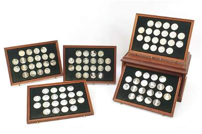The Hundred Great Masterpieces, one hundred Silver