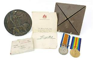British military World War I group relating to Private