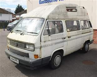 1990 Volkswagen Transporter Komet camper van,