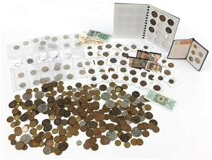 Victorian and later British and world coinage and