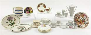 Collectable china including Portmeirion, Emma