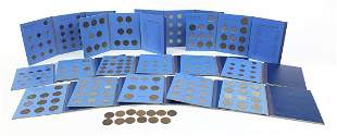Fourteen Great Britain coin collection folders with