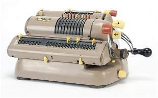 Vintage Walther mechanical calculator model WSR 460,