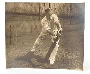 Cricketing interest photograph signed by Herbert