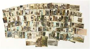 Collection of Edwardian and later topographical and