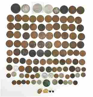 19th century and later British and world coinage