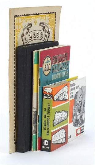 Railway interest books and pamphlets including The