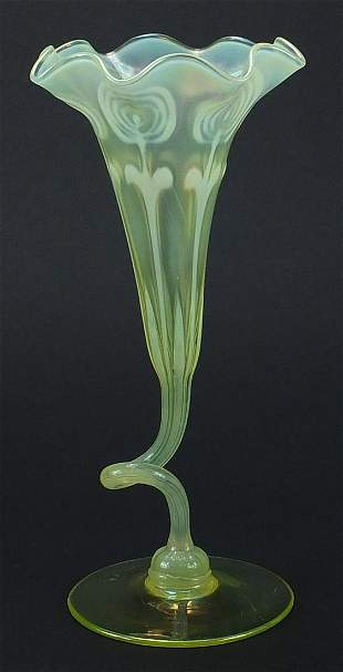 Attributed to James Powell & Sons, large Art Nouveau