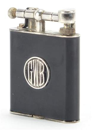 Alfred Dunhill & Sons, Art Deco Namiki silver and