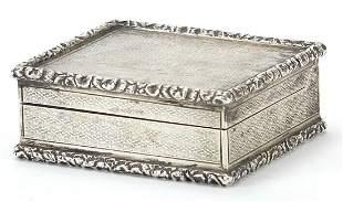 Frederick Thomas Buckthorpe, Edward VII silver snuff