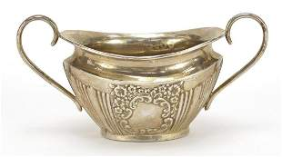 Joseph Gloster Ltd, Victorian silver sugar bowl with
