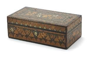 Extremely fine early 19th century mahogany, fruit wood