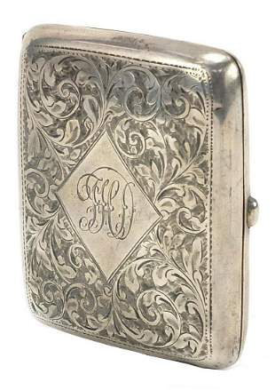 William Hair Hasler, George V rectangular silver