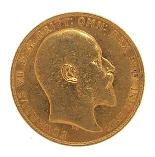 Edward VII 1907 gold sovereign