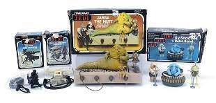 Vintage Star Wars Return of the Jedi action figure sets