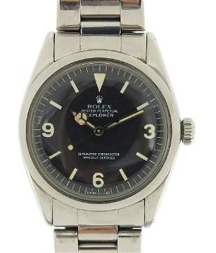 Rolex, vintage gentlemen's Oyster Explorer wristwatch