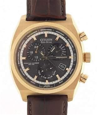 Citizen Eco-Drive, gentlemen's Calibre 8700 perpetual