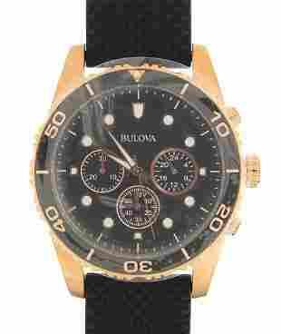 Bulova, gentlemen's wristwatch numbered 21752561