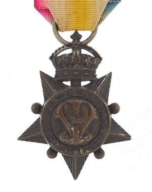 British military 1880 Kabul To Kandahar Star awarded tO