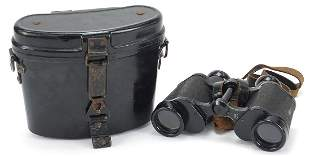 Pair of military interest Carl Zeiss Jena 6 x 30