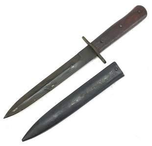 Military interest fighting knife, 30.5cm in length