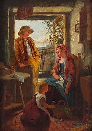 Frederick Daniel Hardy 1868 - Mother and father with
