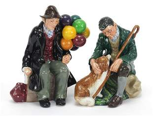 Two Royal Doulton figures comprising The Master HN2325