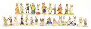 Collection of Royal Doulton and Royal Albert Beatrix