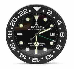 Rolex GMT-Master II design dealer's display wall clock,