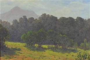 Charles Stephen Meacham - Summer country landscape,