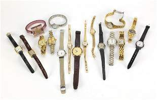 Vintage and later ladies' wristwatches including