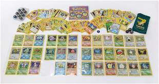 Pokemon collectables including original base set