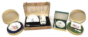 Collectable china including a Royal Doulton christening