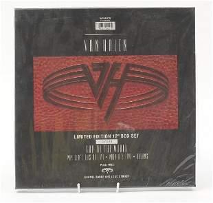 Van Halen limited edition 12 inch vinyl LP box set in