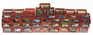 Collection of Matchbox Models of Yesteryear die cast
