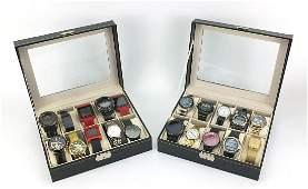 Twenty vintage and later gentlemen's wristwatches