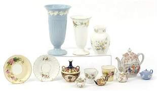 Collectable china including Royal Crown Derby Old Imari