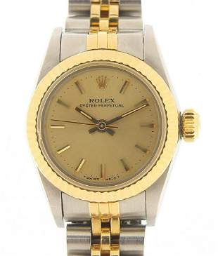 Rolex, ladies Oyster Perpetual wristwatc...