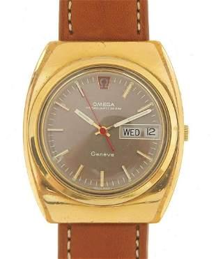 Omega, gentlemen's Megaquartz wristwatch...