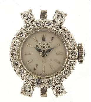 Girard Perregaux, ladies 14ct white gold...