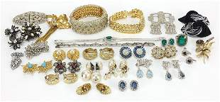 Art Deco and later jewellery including t...
