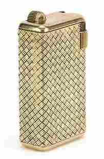 Continental gold basket weave design poc...