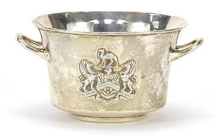 Mappin & Webb, Victorian silver bowl wit...