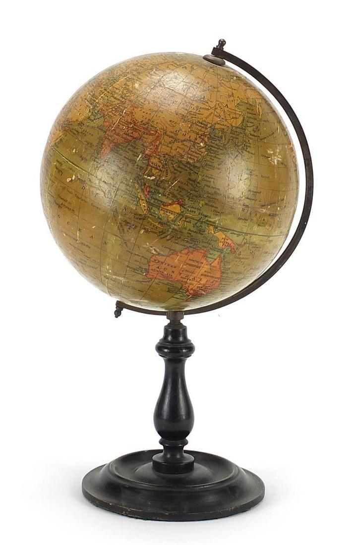 Geographia 8 inch terrestrial table glob...