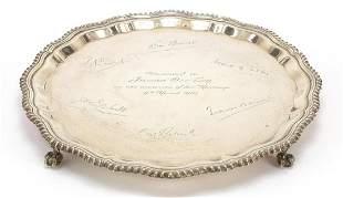 J B Chatterley & Sons Ltd, George V silv...