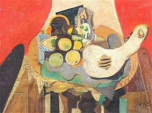 After Georges Braque - Surreal still lif...