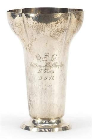 Olympic interest German silver trophy wi...