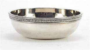 Christofle, silver plated bowl commemora...