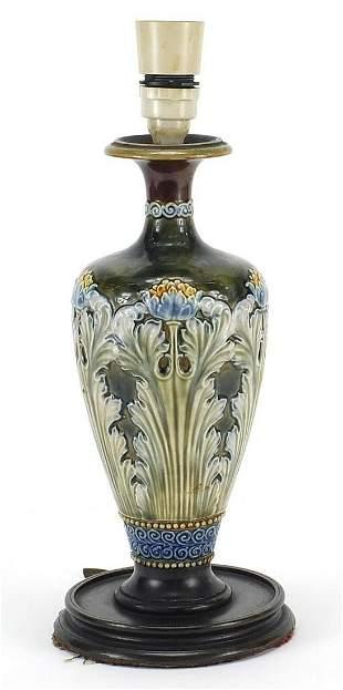 Royal Doulton, Art Nouveau stoneware vas...